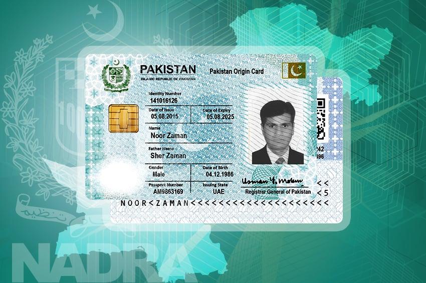 Pakistan Origin Card (POC) – NADRA Pakistan